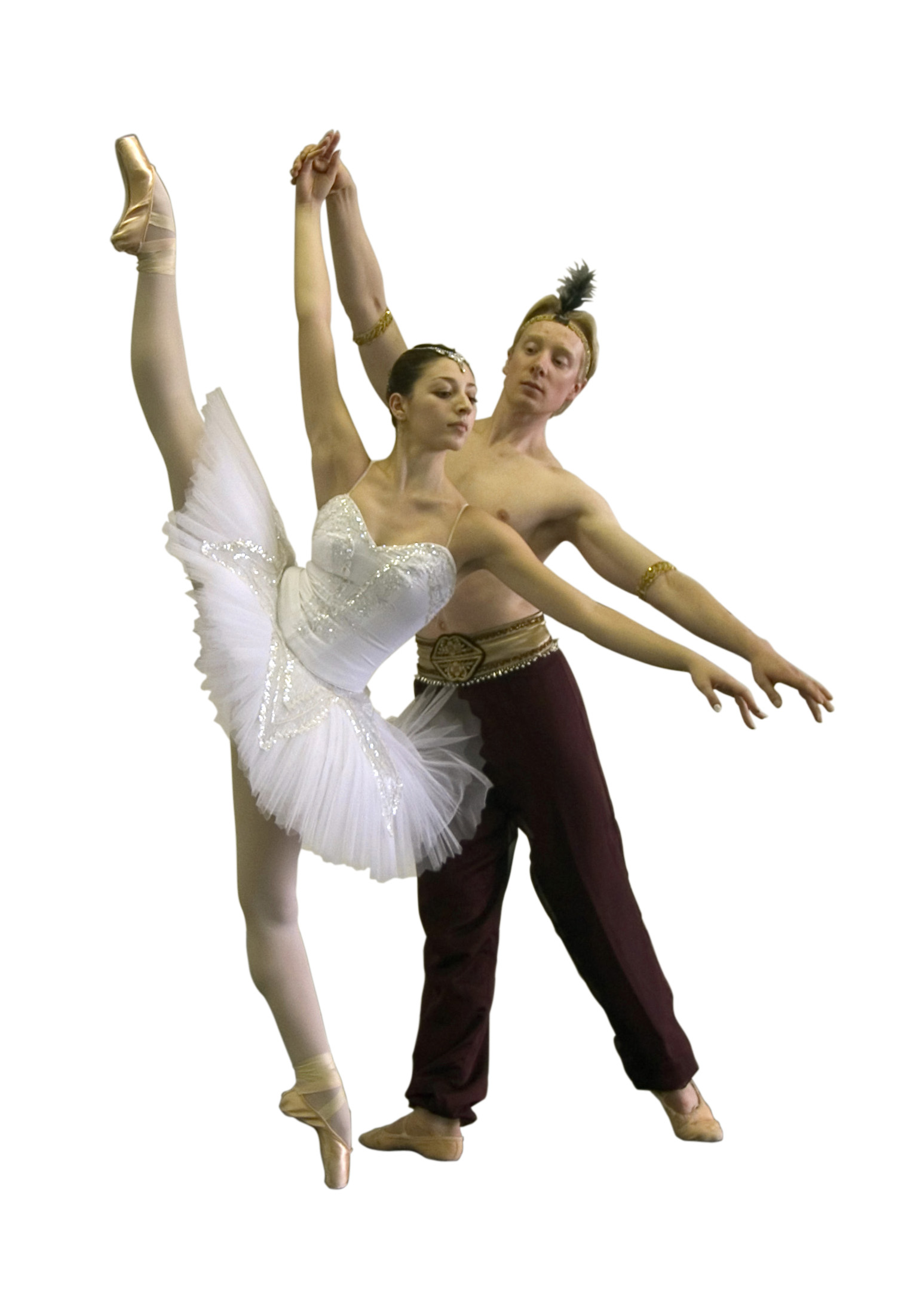 La Bayadere-Maya Makhateli and Nathan Vander Stoep of Colorado Ballet