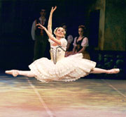 Alumna Louise Nadeau as Swanilda in 2001 production